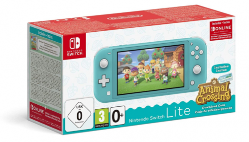 Promocja na Nintendo Switch Lite Animal Crossing New Horizons