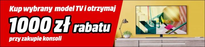 Promocja na Telewizor Samsung QE65Q74TAT + Xbox Series S