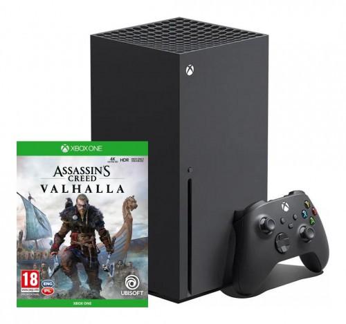 Promocja na Xbox Series X + Assassin's Creed Valhalla