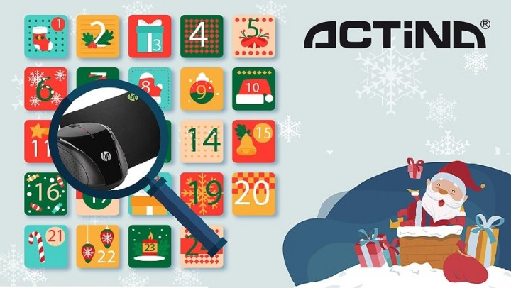 Wygraj myszkę i podkładkę od Actina