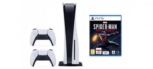 Promocja na PlayStation 5  + dodatkowy kontroler + Marvel's Spider-Man: Miles Morales