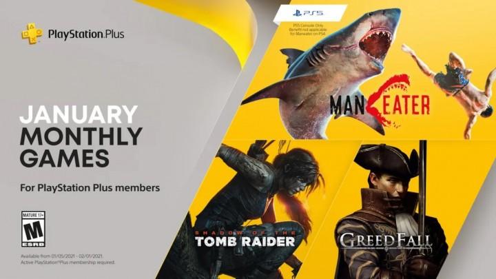 Styczeń 2021 PlayStation Plus