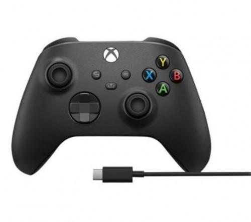 Promocja na Xbox Series Kontroler bezprzewodowy + kabel USB-C (carbon black)