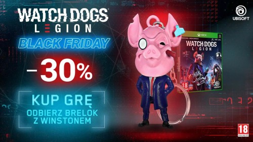 Watch Dogs Legion brelok