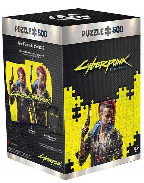 Puzzle Cyberpunk 2077 Od 79 00 Zl Na Allegro