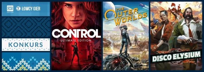 Wygraj Control, Disco Elysium i The Outer Worlds