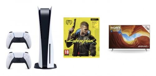 Promocja na PlayStation 5 + gra + telewizor