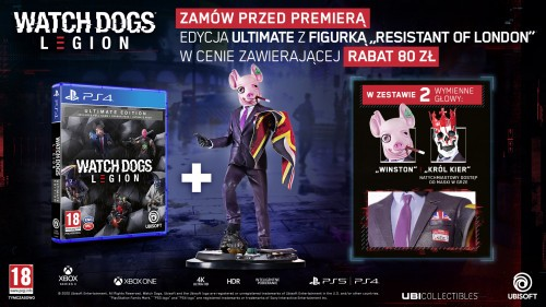 Promocja na Watch Dogs Legion