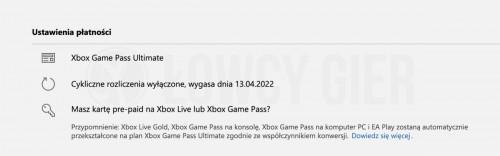 4 miesiące Xbox Game Pass dla aktywnych subskrybentów