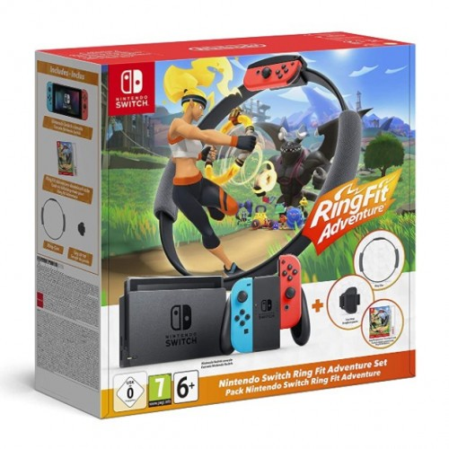 Promocja na Nintendo Switch + Ring Fit Adventure