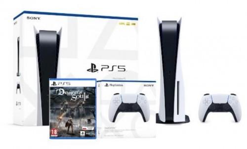 Sony PlayStation 5 + Demon's Souls Remake + dodatkowy pad