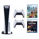 Promocja na PlayStation 5 + Dodatkowy kontroler DualSense + Marvel's Spider-Man: Miles Morales + Sackboy: A Big Adventure