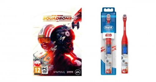 Star Wars: Squadrons PC + Szczoteczka rotacyjna ORAL-B D4 Kids Star Wars