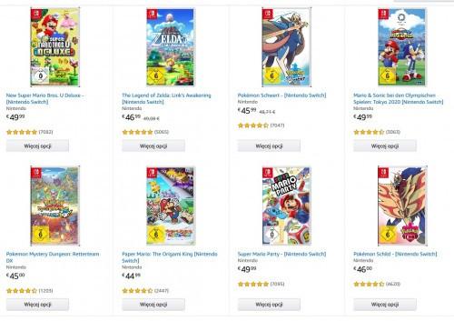 Promocja 3 sztuki w cenie 2 Nintendo Switch