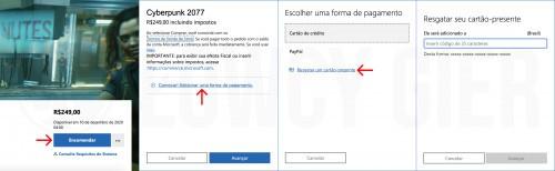 Sposób dokonania zakupu w brazylijskim Sklepie Microsoftu