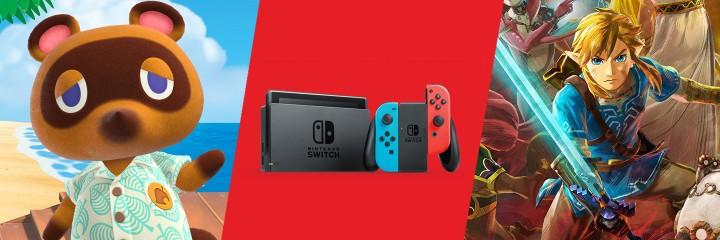 Podsumowanie 2020 - Nintendo Switch - duży obrazek