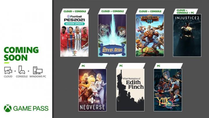 Xbox Game Pass Styczeń 2021