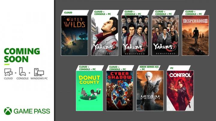 Oferta Xbox Game Pass Styczeń 2021