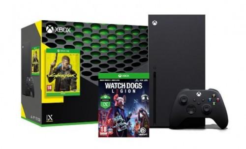 Promocja na zestaw Xbox Series X + Cyberpunk 2077 + Watch Dogs Legion