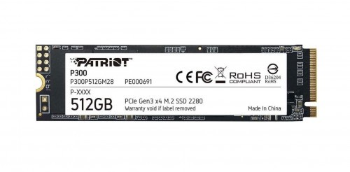 Promocja na Dysk SSD Patriot P300 512 GB M.2 2280 PCI-E x4