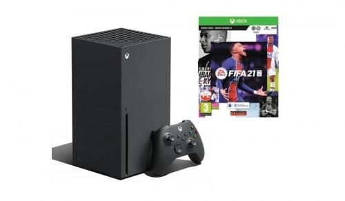 Promocja na XBOX Series X + FIFA 21
