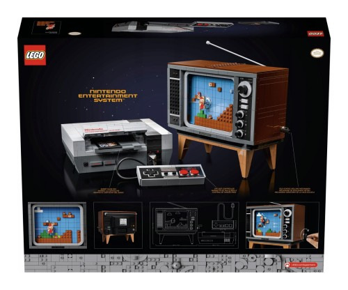 Promocja na klocki LEGO 71374 Super Mario Nintendo Entertainment System facebook