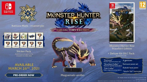 Promocja na Monster Hunter Rise Collector's Edition Nintendo Switch