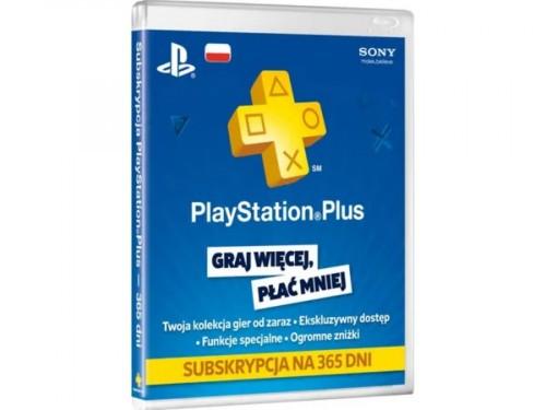 Promocja na PlayStation Plus subskrypcja na 365 dni