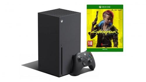 Promocja na Xbox Series X 1TB + Cyberpunk 2077