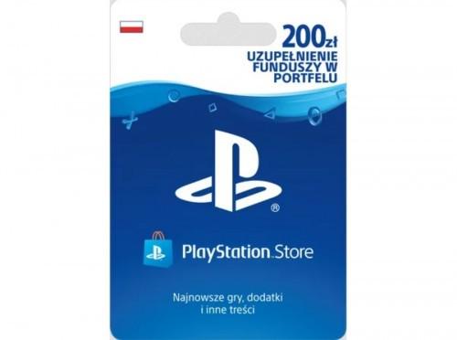 Promocja na doładowanie 200 zł do PS Store