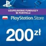 Promocja na doładowanie 200 zł do PlayStation Store