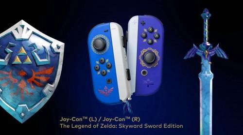 The Legend of Zelda: Skyward Sword HD - kontrolery JoyCon
