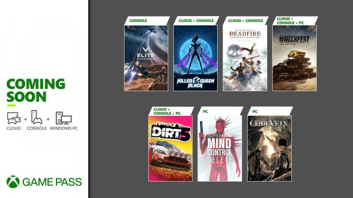 Oferta Xbox Game Pass na luty 2021