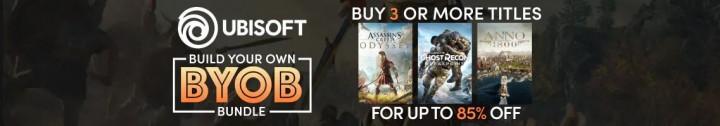 Humble Store Ubisoft Build Your Own Bundle