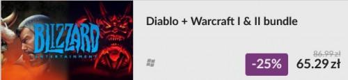 Promocja na Diablo + Hellfire i bundle Warcraft I & II