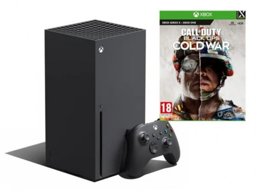 Promocja na XBOX SERIES X + Call of Duty: Black Ops Cold War