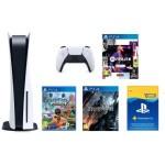 PlayStation 5 w zestawie z trzema grami oraz rocznym abonamentem PS Plus