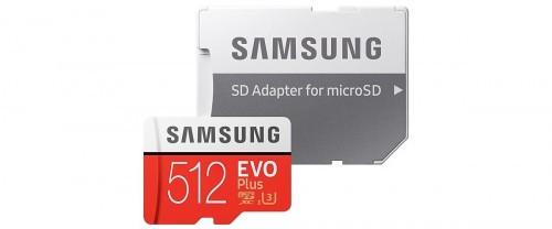 Promocja na Samasung Evo Plus microSDXC 512GB + Adapter