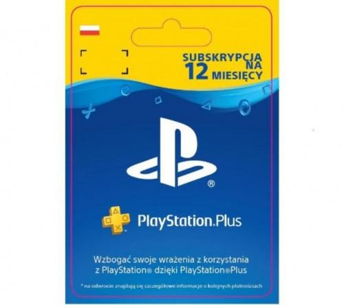 Sony Subskrypcja PlayStation Plus 12 m-ce [kod aktywacyjny]