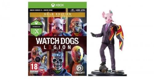 Promocja na Watch Dogs Legion Gold Edition + figurka