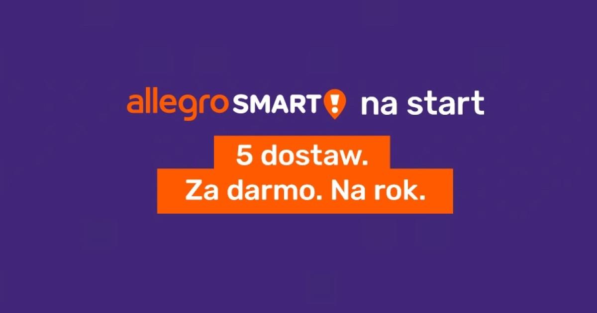 Smart Na Start 5 Darmowych Dostaw Dla Uzytkownikow Bez Aktywnej Uslugi Allegro Smart