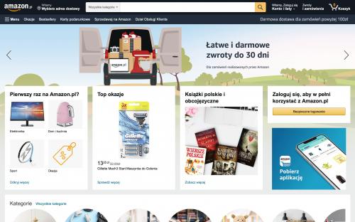 Amazon.pl oficjalnie w Polsce