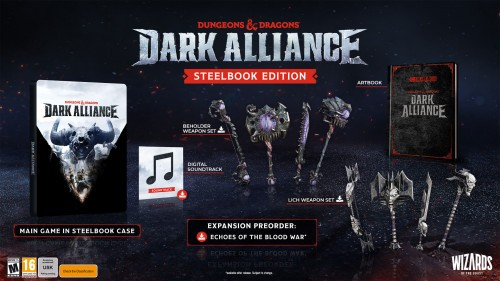 Promocja na Dungeons and Dragons Dark Alliance