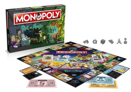 Promocja na Monopoly Rick i Morty