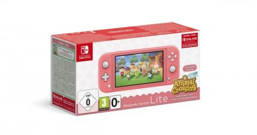 Promocja na Nintendo Switch Lite Coral