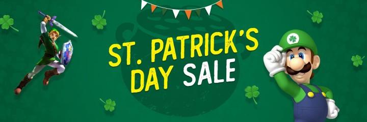 Wyprzedaż St. Patrick's Day w CDKeys