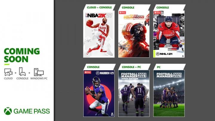 Xbox Game Pass Marzec 2021