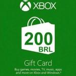 Promocja na giftcard 200 BRL do Microsoft Store