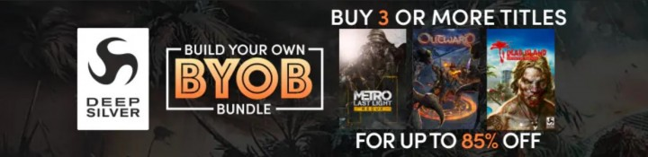 Deep Silver Build Your Own Bundle