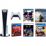 PlayStation 5 + Marvel's Spider-Man + FIFA 21 Edycja Standardowa + NiOh Collection + DiRT 5 + Assassin's Creed The Ezio Collection